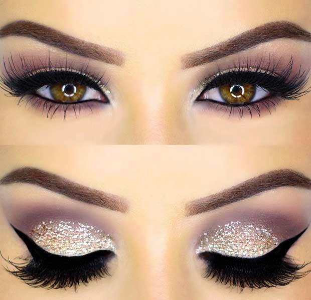 Свадьба - Sparkling Eye Makeup