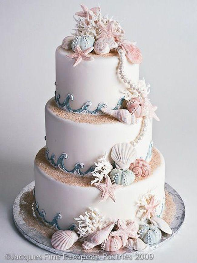Boda - Beach Wedding Cake