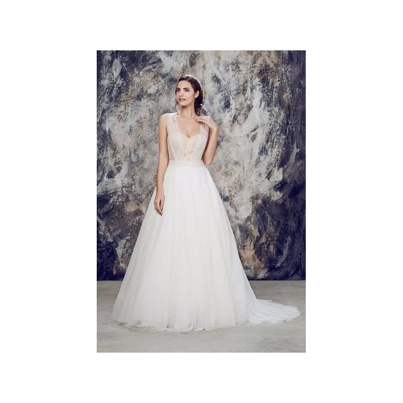 vestido de novia de mireia vidal brides modelo ambar - 2016 evasé