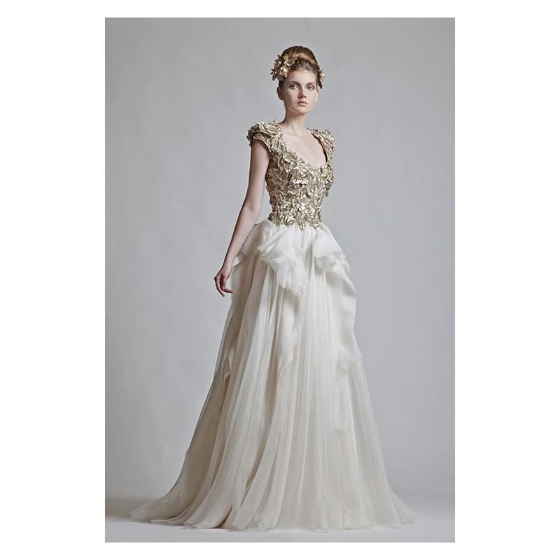 Wedding - Krikor Jabotian SS12 Style 1063 - Wedding Dresses 2017,Cheap Bridal Gowns,Prom Dresses On Sale