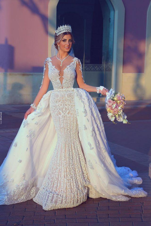 Mariage - 10 SHEER WEDDING DRESSES
