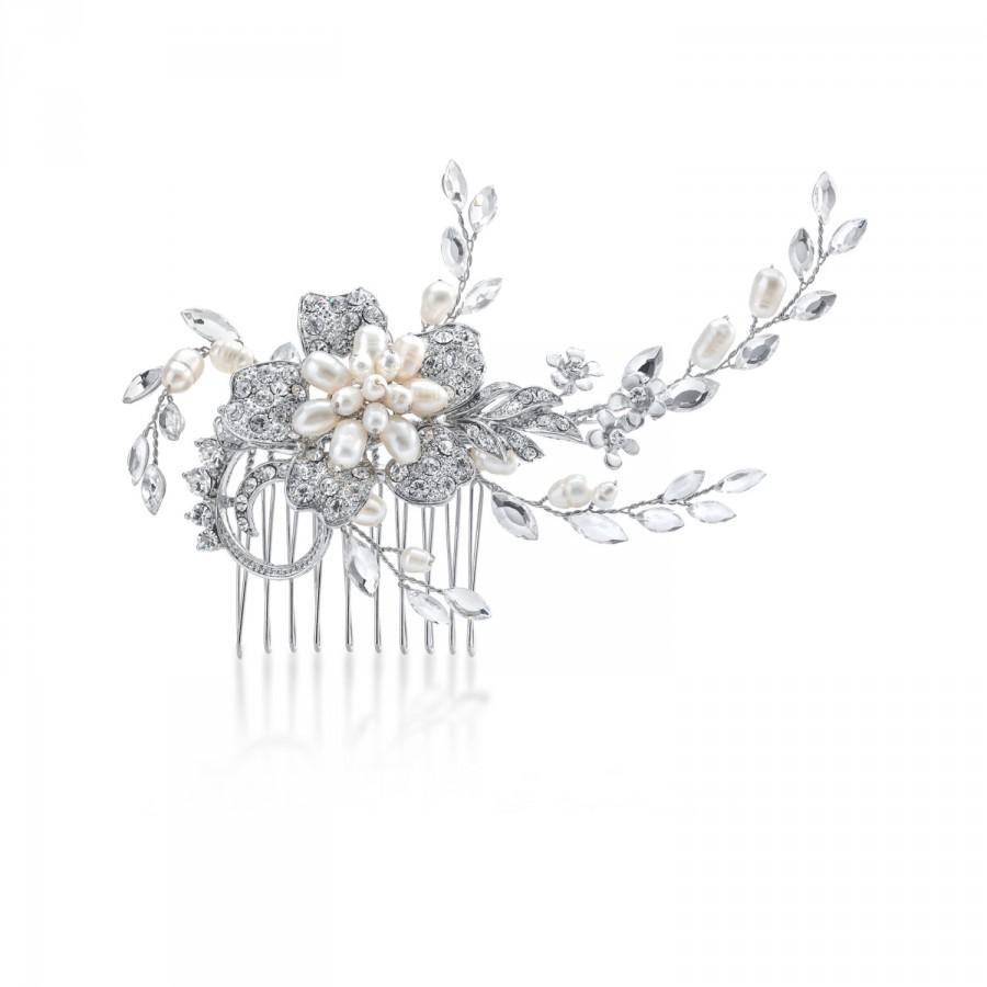 Wedding - Graceful Pearl Hair Comb