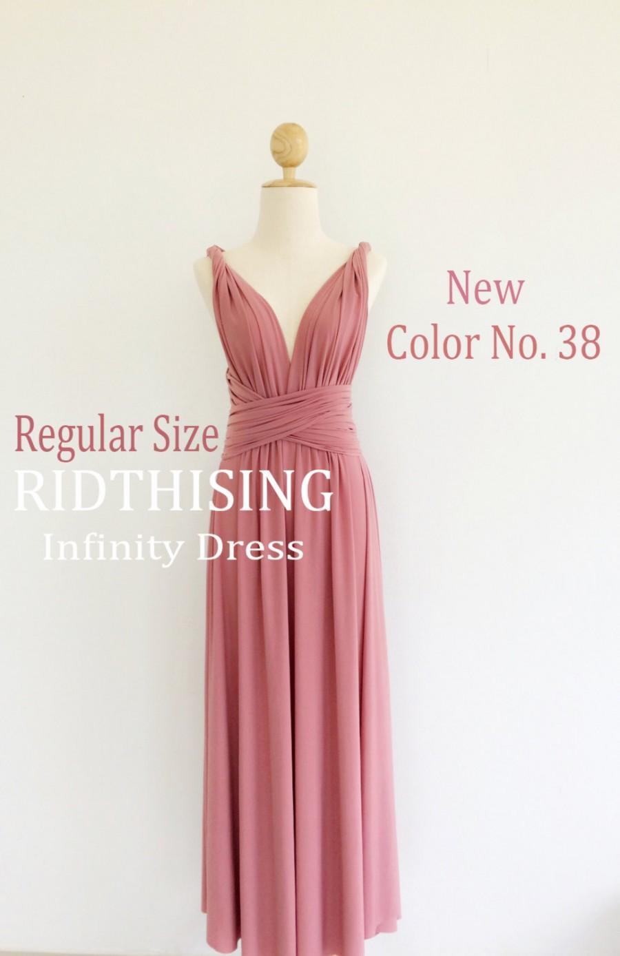 Wedding - Maxi Bridesmaid Dress infinity Dress Prom Dress Convertible Dress Wrap Dress