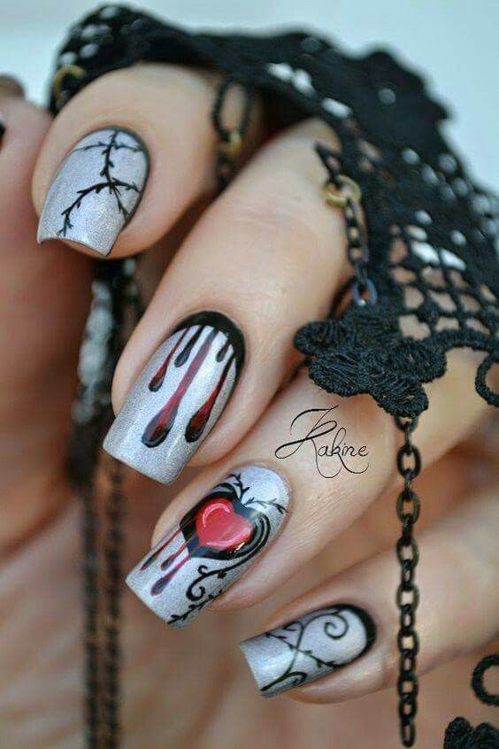 Wedding - Halloween Nails