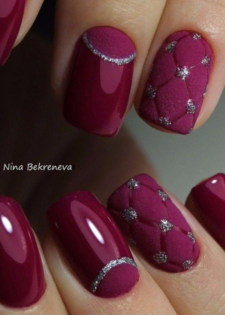 Wedding - Velvet Nail Art