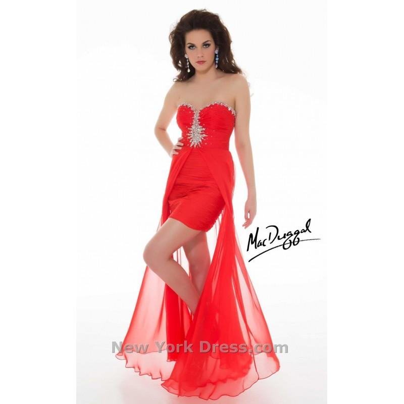 Wedding - Mac Duggal 6367N - Charming Wedding Party Dresses