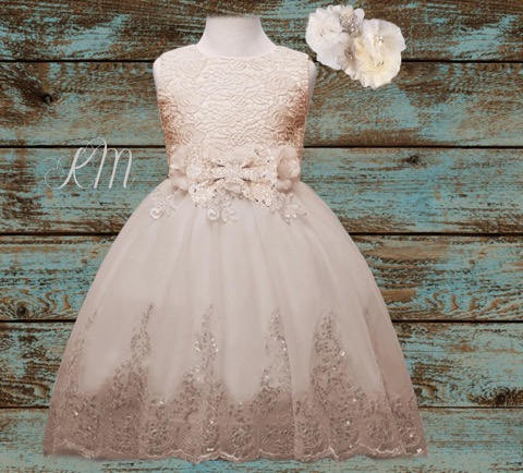 Rustic Flower Dresses