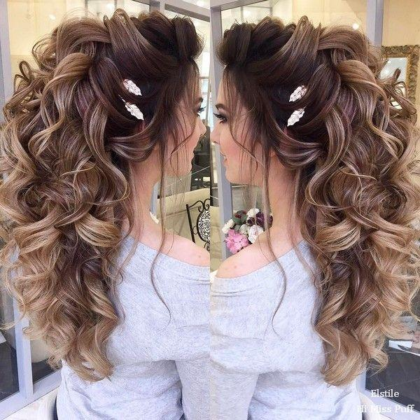 زفاف - 100 Wow-Worthy Long Wedding Hairstyles From Elstile