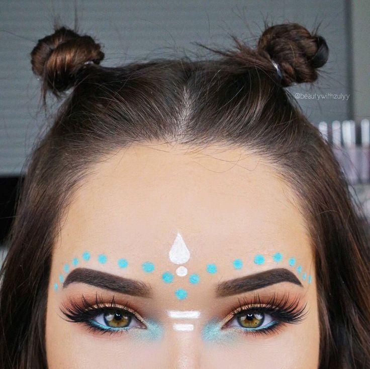 Boda - Turquoise Makeup