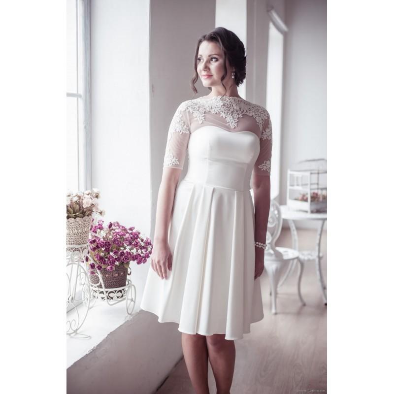 زفاف - Apilat 12 Apilat Wedding Dresses Short Collection 2017 - Rosy Bridesmaid Dresses