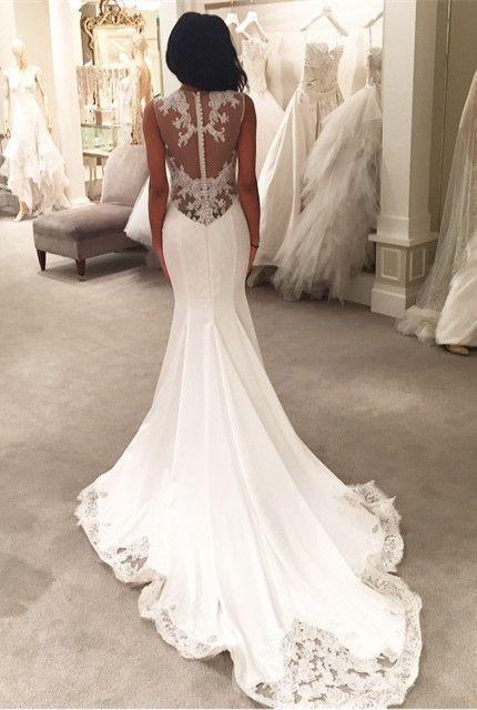 Hochzeit - 100 Most-Pinnned Mermaid Wedding Dresses