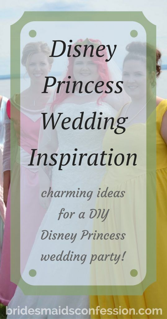 Mariage - This Disney Princess Inspired Wedding Will Add Magic To Your Day