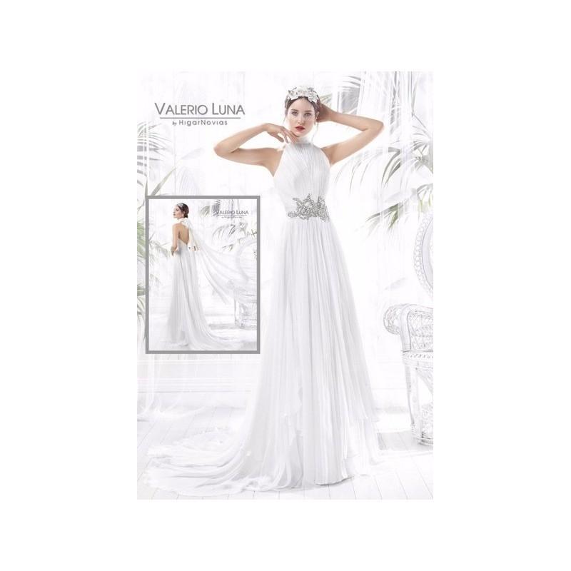 Wedding - Vestido de novia de Valerio Luna Modelo VL5836 - 2016 Evasé Otros Vestido - Tienda nupcial con estilo del cordón