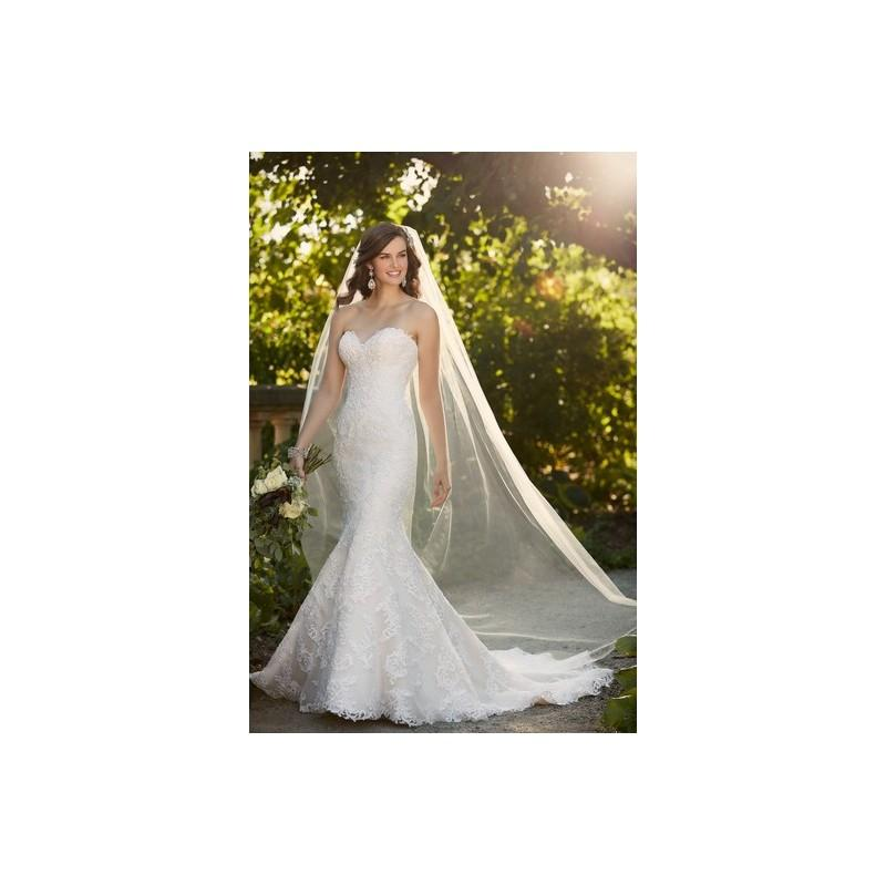 Nozze - Essense of Australia Wedding Dress Spring 2016 D1985 - Fit and Flare Spring 2016 Full Length Ivory Sweetheart Essense of Austral - Rolierosie One Wedding Store