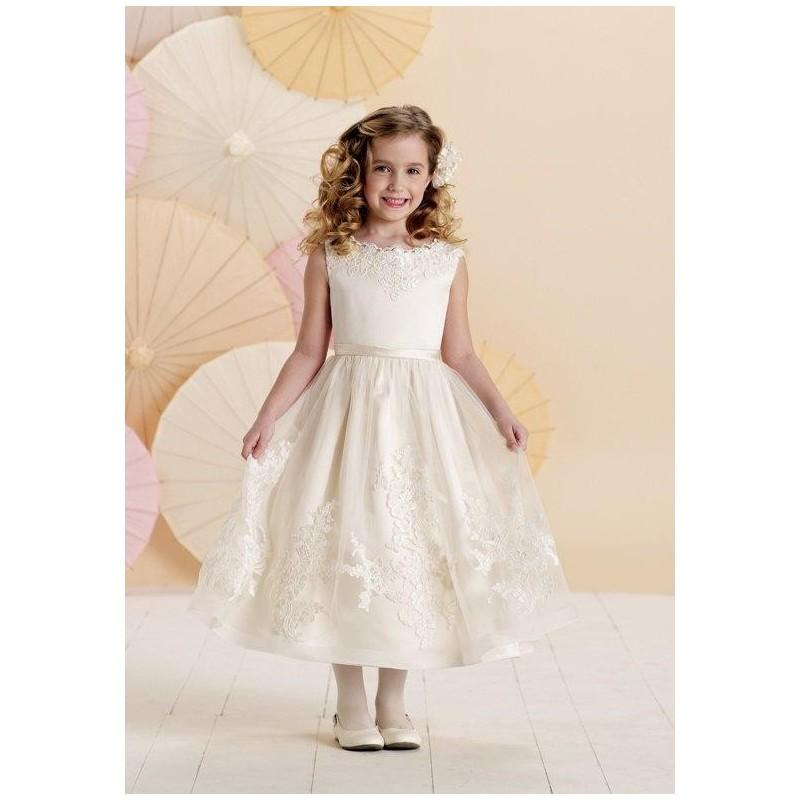 1a8af2c0a2 Joan Calabrese by Mon Cheri 214378 Flower Girl Dress - The Knot - Formal  Bridesmaid Dresses 2017