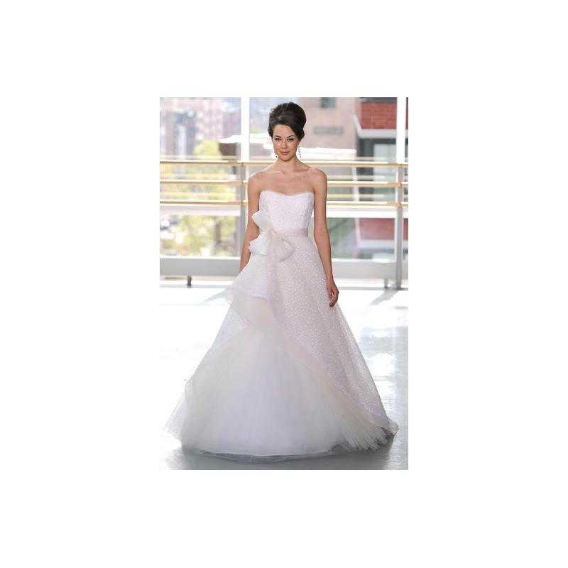 Mariage - Rivini SS13 Dress 13 - Ball Gown Spring 2013 Pink Full Length Rivini Strapless - Rolierosie One Wedding Store