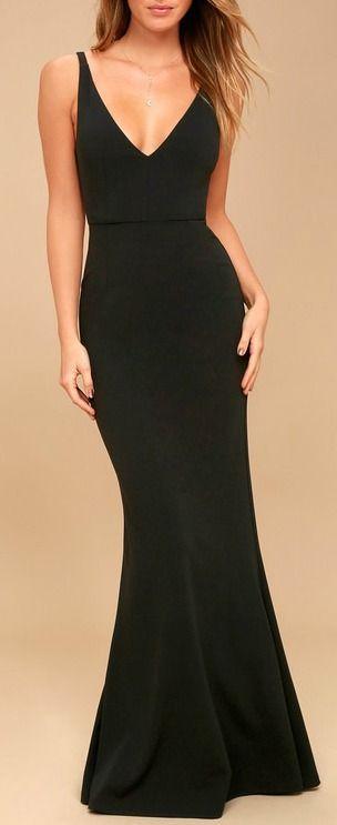 b0cc83f1e14d7 Dress - Melora Black Sleeveless Maxi Dress  2794597 - Weddbook