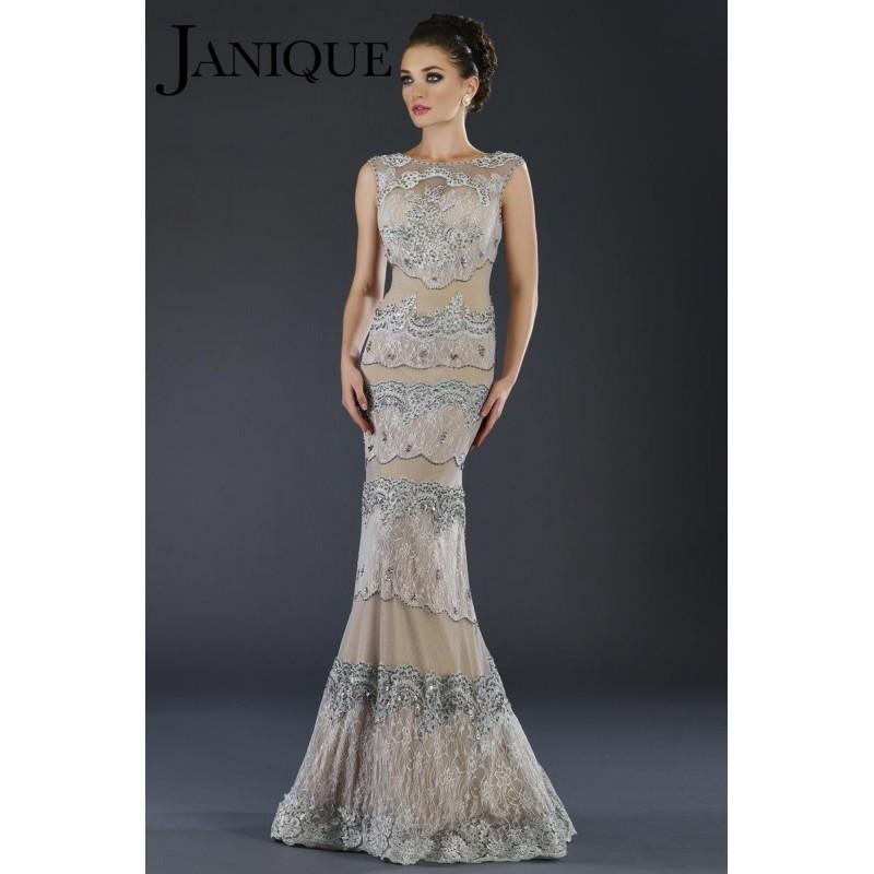 Свадьба - Janique 917 Olive,Silver Dress - The Unique Prom Store