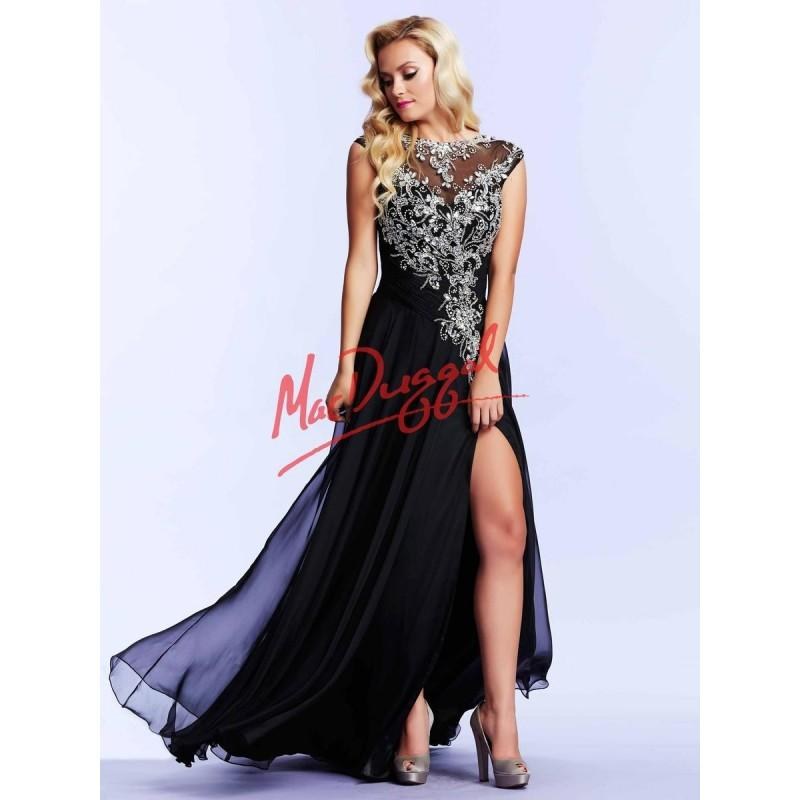 Mac Duggal 64947M Classic Prom Dress - Brand Prom Dresses #2795022 ...