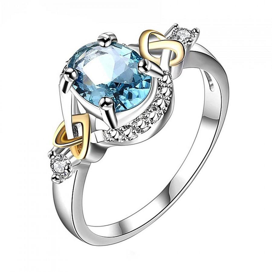 Mariage - Crystal Decorated Engagement Ring