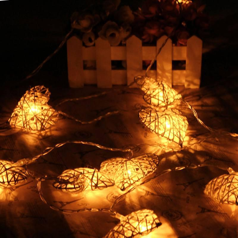 زفاف - Heart Shaped LED Garden Lighting