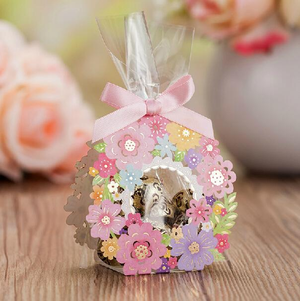 Boda - Luxurious Floral Candy Boxes