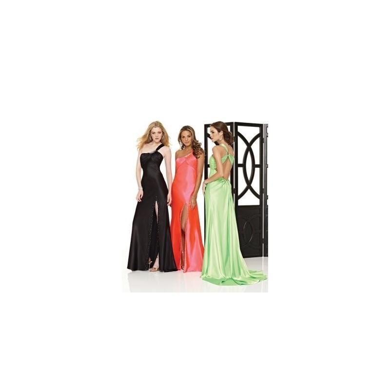 Wedding - Designer Vintage Sweep Length Opening Empire Waist Evening Dress - Charming Wedding Party Dresses