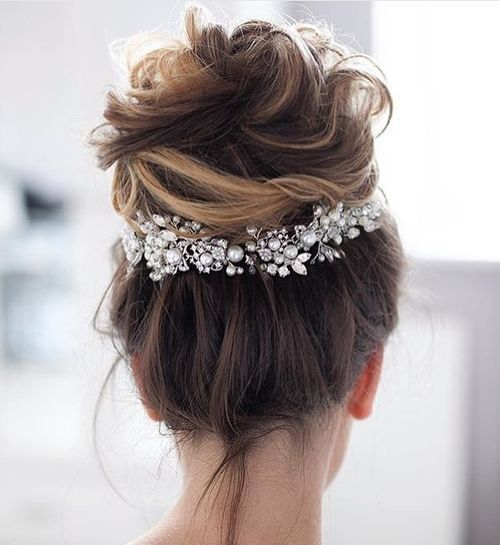 38 Perfectly Imperfect Messy Hairstyles For All Lengths #2795581 ...
