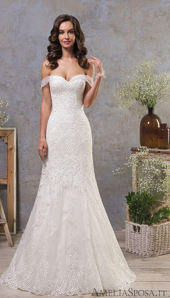 Свадьба - Classic Feminine Beauty In These Amelia Sposa Wedding Dresses