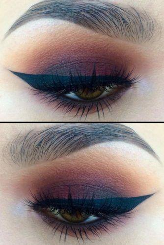 Свадьба - Mauve Smokey Eye