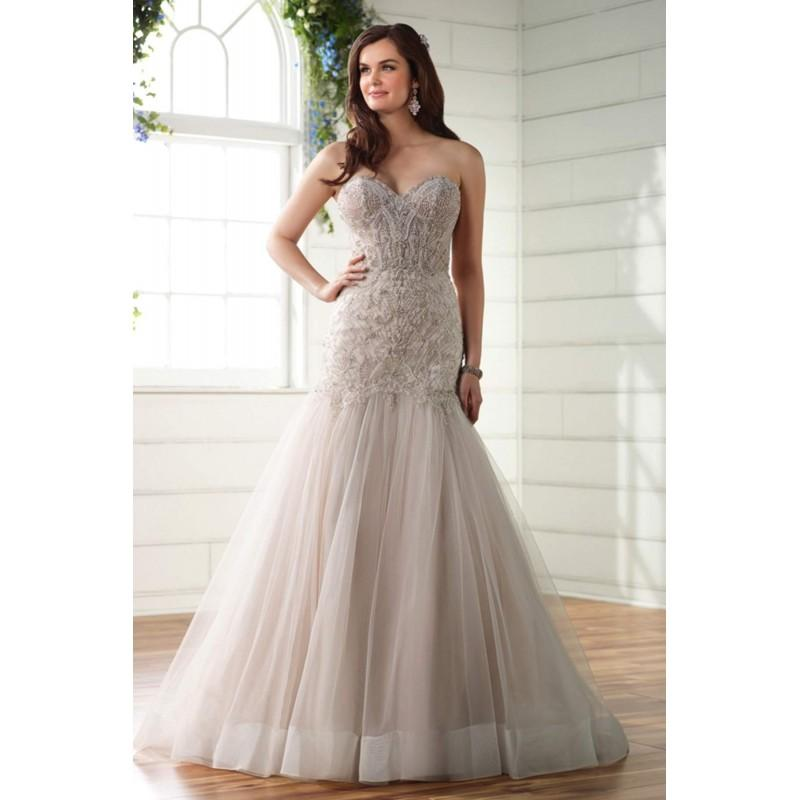 Style D2279 By Essense Of Australia - Ivory White Blush Beaded ...