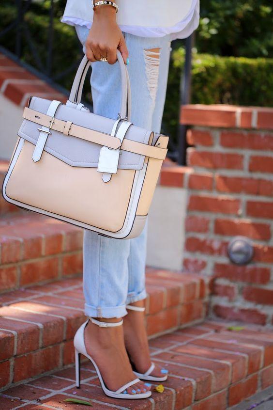 Mariage - Elsa Patent Ankle Strap Heels - Aqua Mint