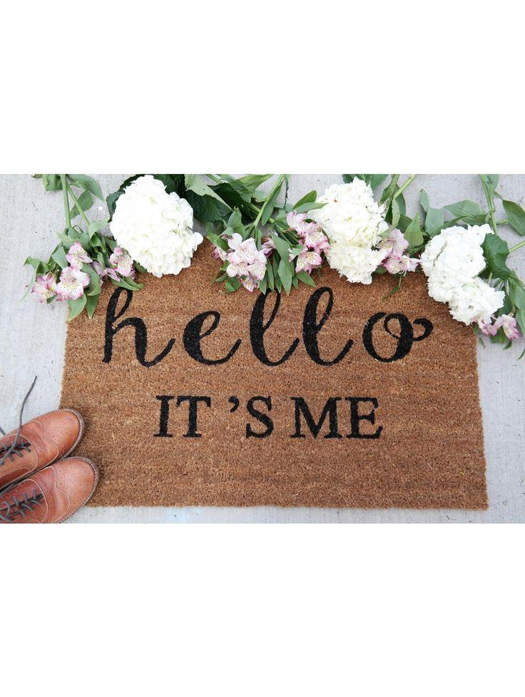 Wedding - Hello It's Me Doormat