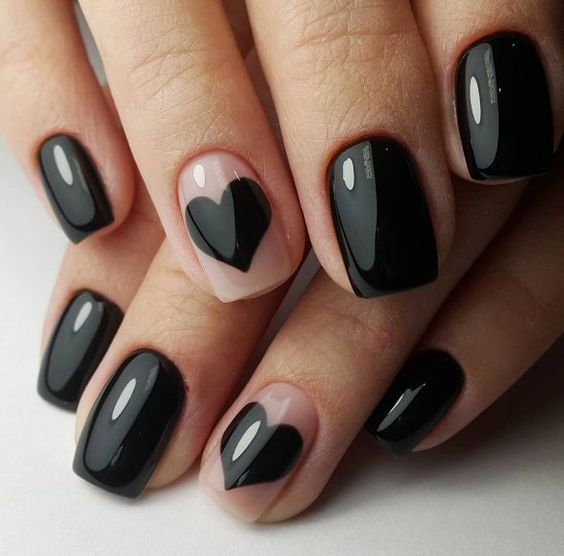 16 Ideas For Black Nail Polish That Youll Love If You Have A Cold