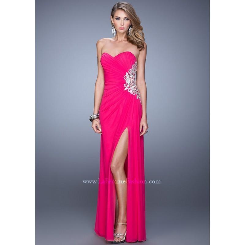 Wedding - La Femme 21115 Sweetheart Jersey Dress - 2017 Spring Trends Dresses