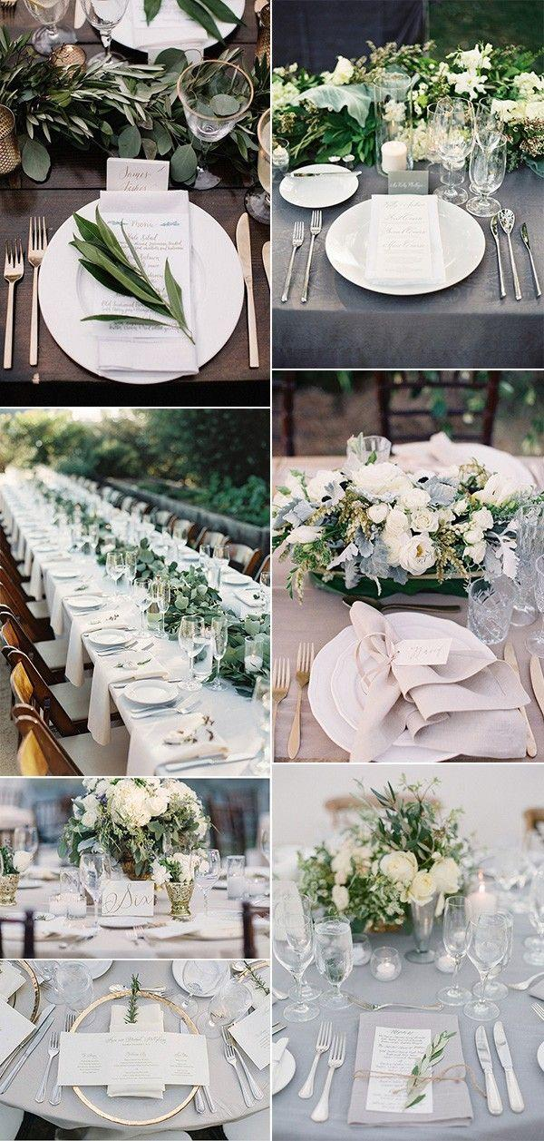 Top 15 So Elegant Wedding Table Setting Ideas For 2018 - Page 3 Of 3 & Top 15 So Elegant Wedding Table Setting Ideas For 2018 - Page 3 Of 3 ...