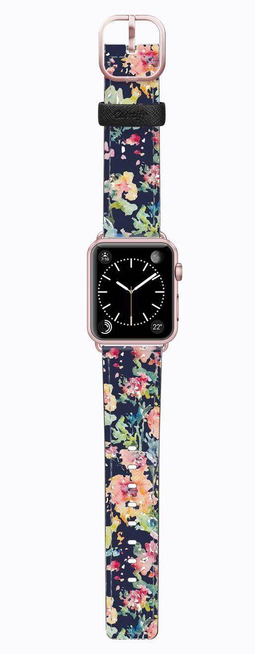 Wedding - Saffiano Leather Apple Watch Strap, 38mm & 42mm