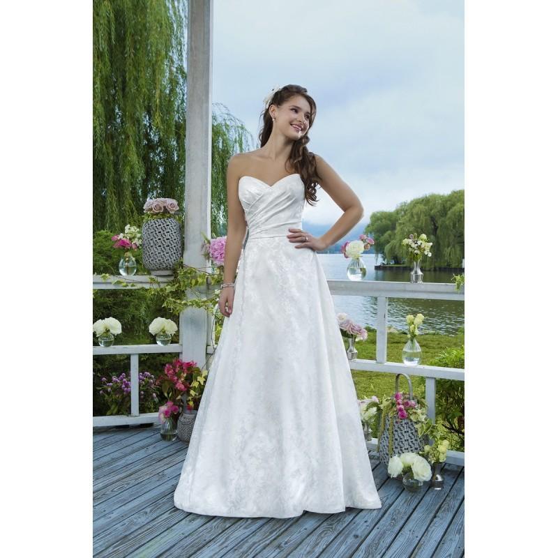 Mariage - Robes de mariée Sweetheart 2016 - 6091 - Superbe magasin de mariage pas cher