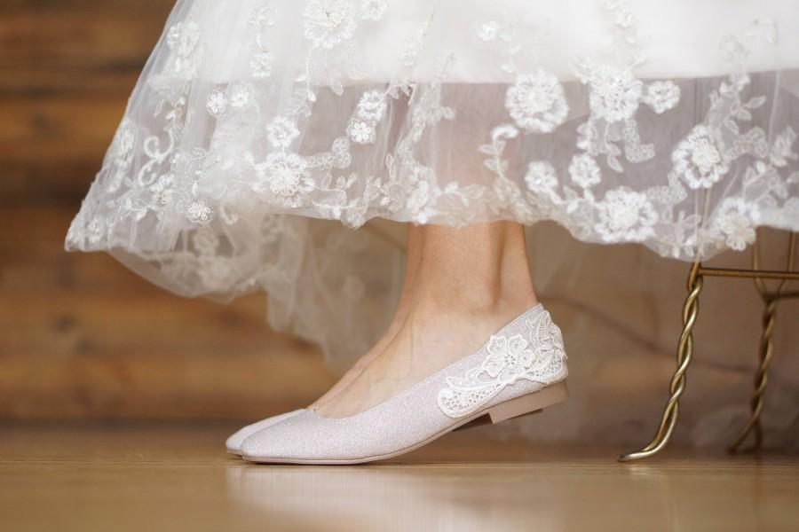 0791ecba71d Champagne Wedding Flats