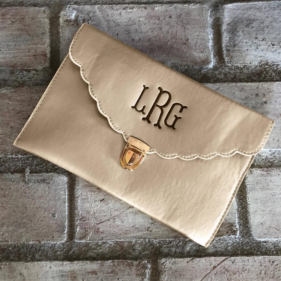 Mariage - CREAM CLUTCH BAG - Gift For Her - Wedding Clutch - Bridesmaid Clutch - Evening Clutch - Envelope Purse - Crossbody Purse - Envelope Bag