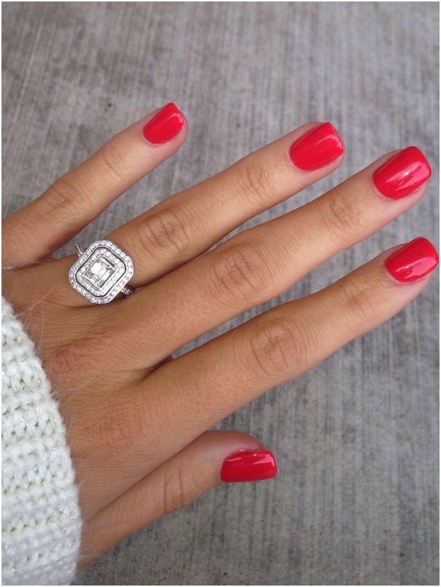 زفاف - Red Nails