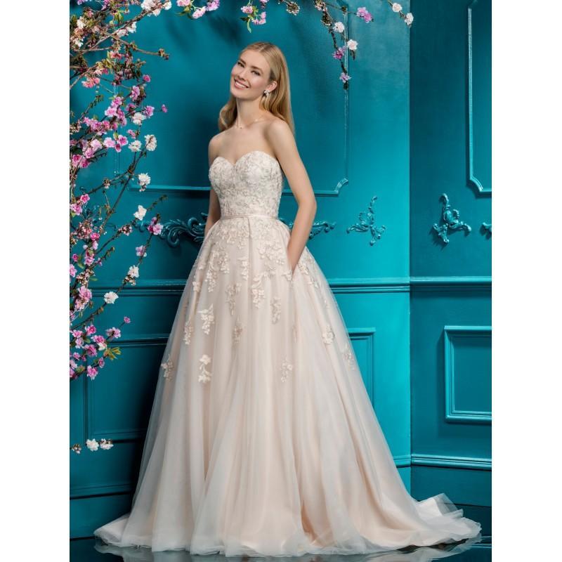 Wedding - Ellis Bridal 2018 Blush Ballgown