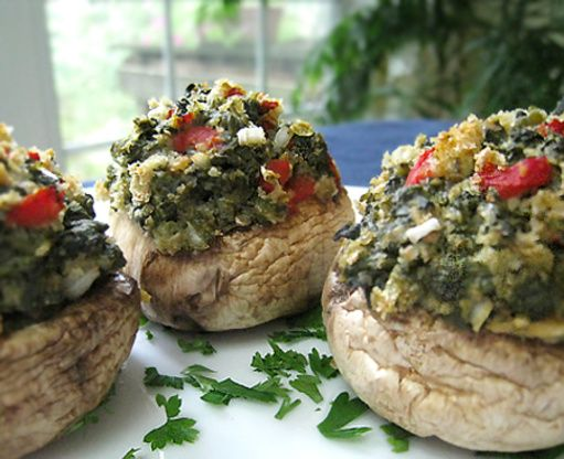 Hochzeit - Ww 0 Points Cajun-Style Stuffed Mushrooms