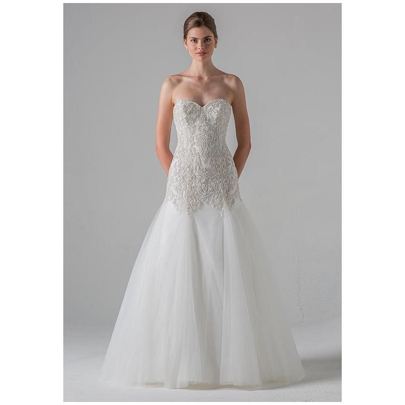The Knot Wedding Gowns: Black Label Anne Barge Marseille Wedding Dress
