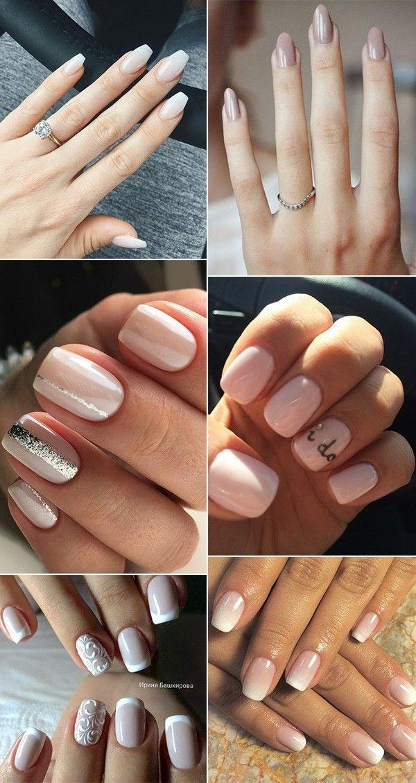 12 Perfect Bridal Nail Designs For Your Wedding Day Page 2 Of 2
