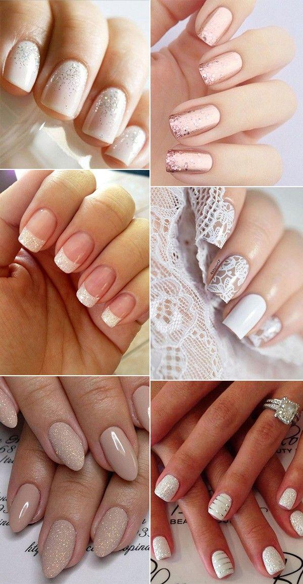 12 Perfect Bridal Nail Designs For Your Wedding Day 2799200 Weddbook