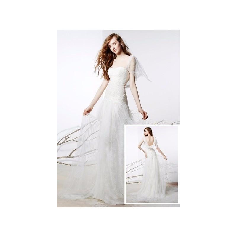 Mariage - Vestido de novia de Raimon Bundó Modelo Romántico - 2016 Recta Otros Vestido - Tienda nupcial con estilo del cordón