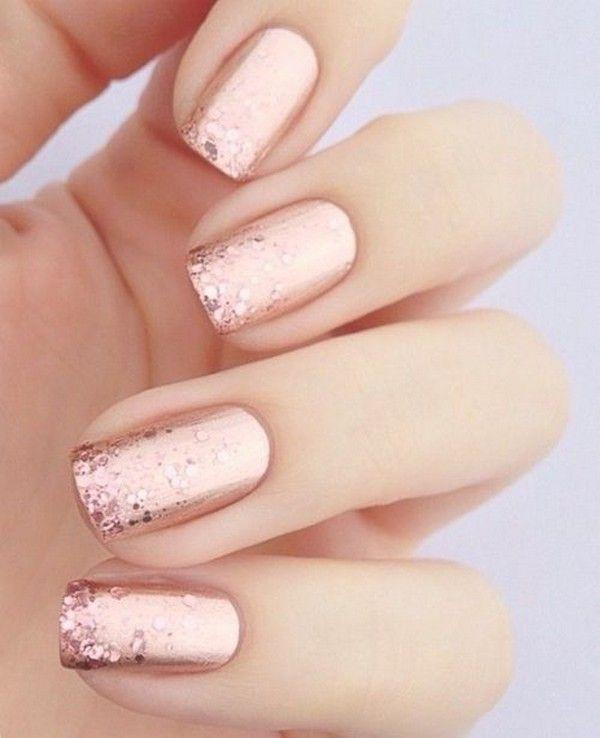 12 Perfect Bridal Nail Designs For Your Wedding Day 2799393 Weddbook