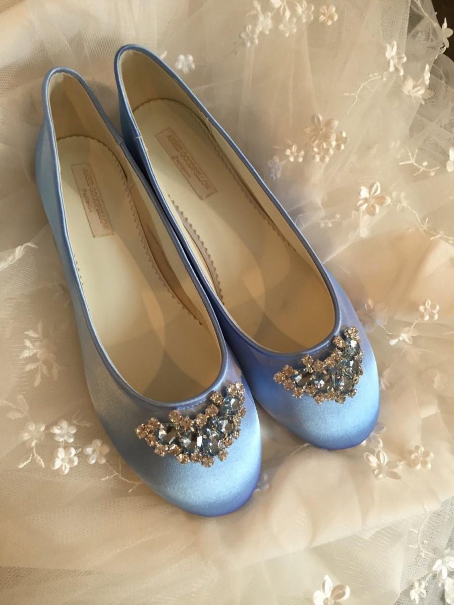 White Ballet Shoe Flat For Bride