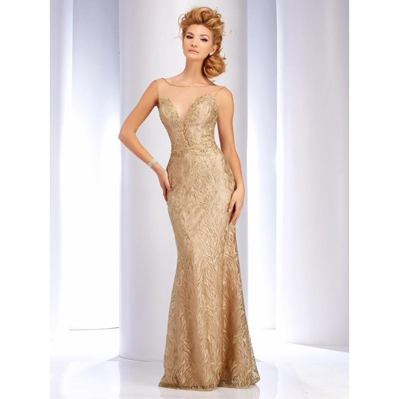 Свадьба - Gold/Champagne Clarisse Couture 4745 Clarisse Couture - Rich Your Wedding Day
